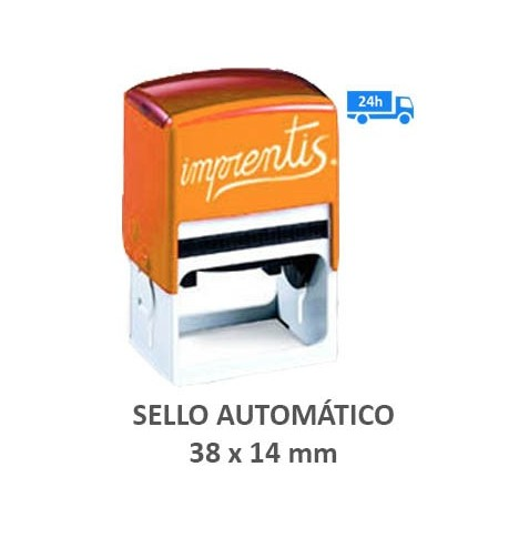 Sello automático 38 x 14 mm