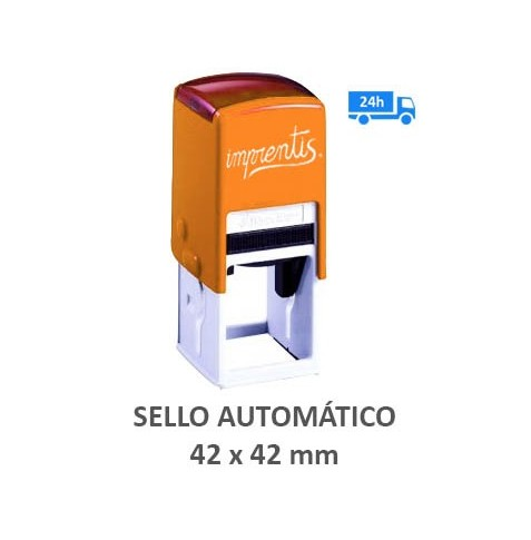 Sello automático 42 x 42 mm