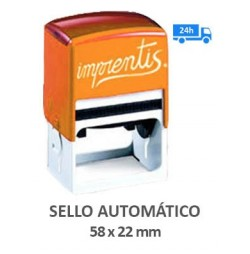Sello automático 58 x 22 mm