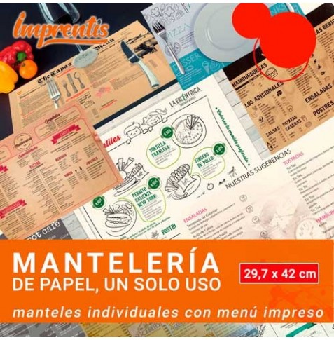 Manteles individuales DIN A3